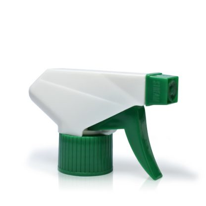 28mm White & Green Plastic Trigger Spray