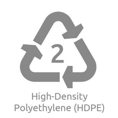 HDPE ampulla logo