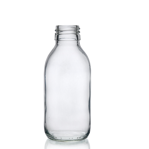 150ml Clear Glass Syrup Bottle