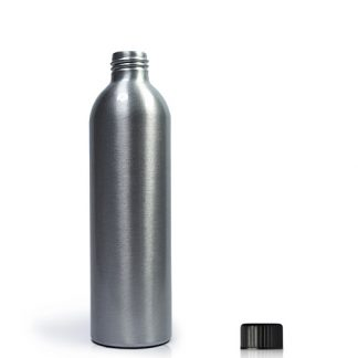 250ml Aluminium Bottle With Plastic Cap