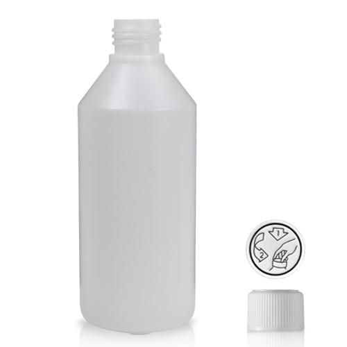 250ml HDPE Bottle
