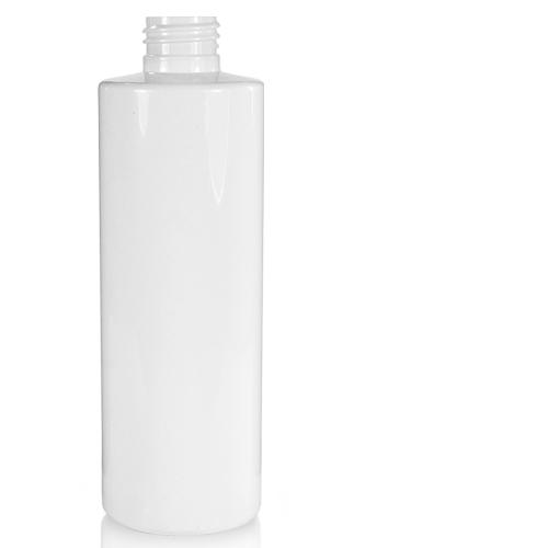 White Plastic Bottle