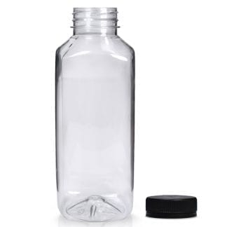 500ml Square Juice Bottle With Cap
