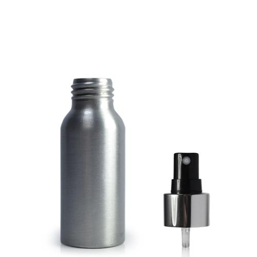 50ml Aluminium Premium Spray Bottle