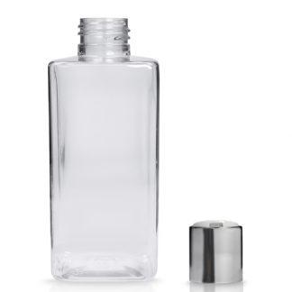 200ml Square Plastic Bottle With Disc-Top Cap