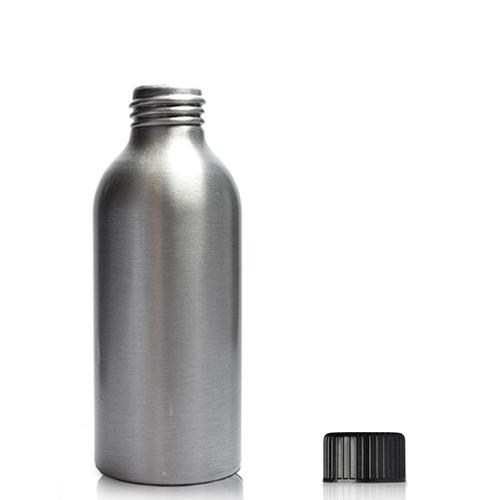 125ml aluminium bottle with screw cap