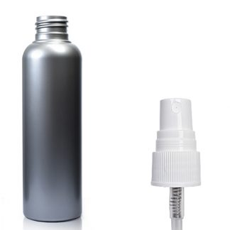 100ml Silver Plastic Spray Bottle