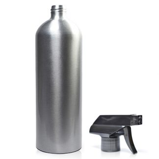 1 Litre Aluminium Bottle With Spray