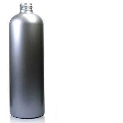 500ml Silver Plastic Bottle
