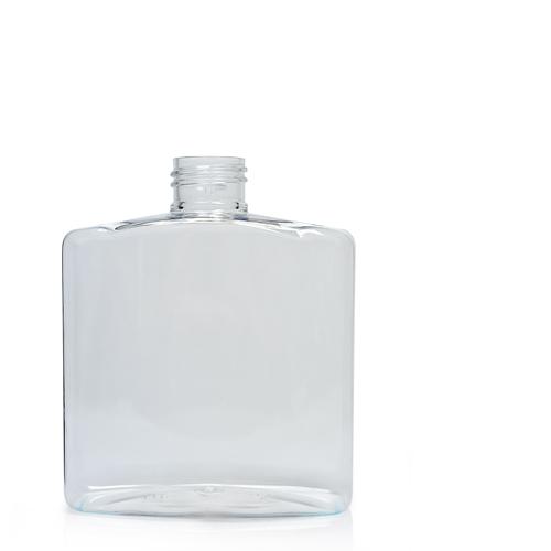 250ml Clear PET Rectangular Bottle