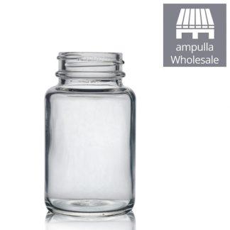 100ml Clear Pharmapac Jar bulk