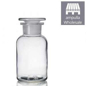 250ml Clear Glass Apothecary Bottles With Stoppers Wholesale