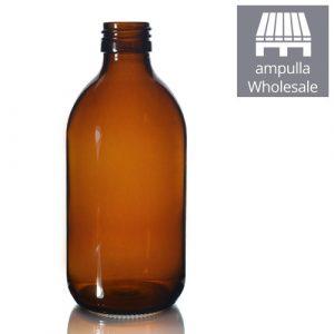 300ml Amber Glass Sirop Bottles Wholesale