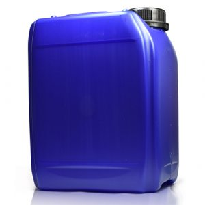 5L Blue stackable with lid