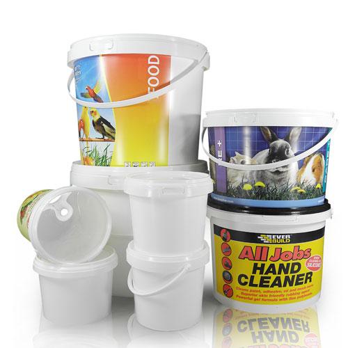 Plastic bucket group
